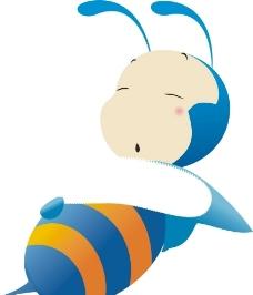 矢量昆虫小蜜蜂卡通图片